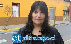 Alejandra Prado, madre del menor enfermo.