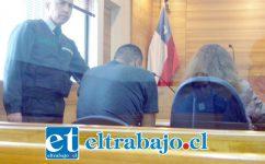 A LA SOMBRA.- La magistrado Valeria Crosa determinó que Pablo Jonathan Basualto Salazar, de 32 años de edad, quedara en Prisión Preventiva por los tres meses que durará la investigación.