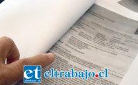 PODEMOS AYUDARLA.- Los dictámenes médicos de esta vecina fueron revisados por Diario El Trabajo.