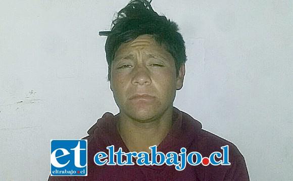 El sentenciado Cristofer Espinoza Camus deberá cumplir tres años de cárcel por el delito de robo por sorpresa cometido en San Felipe el año 2016.