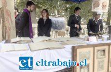 Diversos objetivos fueron mostrados por los alumnos del Liceo Roberto Humeres.