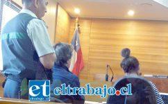 El hombre fue puesto a disposición del Tribunal de Garantía de Los Andes, siendo formalizado por Cuasi delito de Lesiones menos graves.