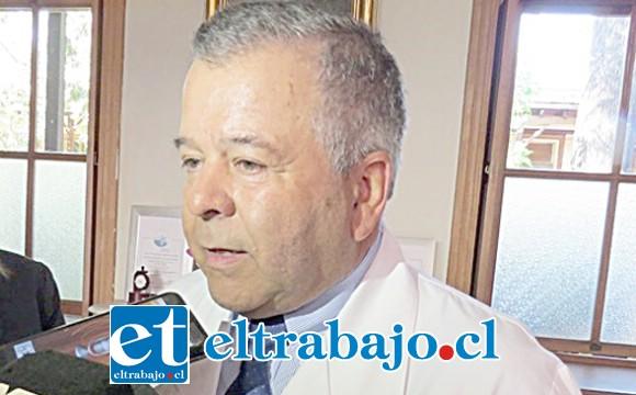 Director del Hosla, Dr. Arturo Ramírez.