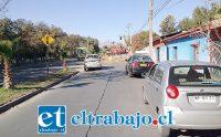 Acá se aprecia parte de los trabajos que se han estado realizando en la intersección de las avenidas Miraflores con Hermanos Carrera.