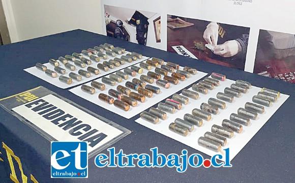 Un total de 91 ovoides equivalentes a más de un kilo de pasta base de cocaína trasportaba dentro de su cuerpo un ciudadano boliviano que fue detenido por la PDI en el Peaje Las Vegas de Llay Llay.