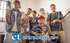 HIP HOP LOCAL.- Ellos son parte del gran grupo de músicos comunitarios de Las 4 Villas, quienes conforman la Agrupación 250 Rimas.