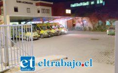 El motorista de 25 años de edad, lesionado de gravedad fue ingresado hasta Urgencias del Hospital San Camilo de San Felipe la noche de este sábado.