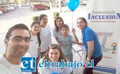 Integrantes de la agrupación Promoviendo inclusión.