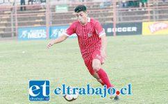 Gonzalo Álvarez se ha convertido en el jugador más desequilibrante de Unión San Felipe.