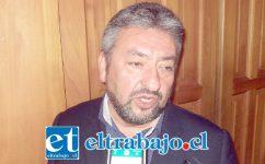 Jorge Jara Catalán, director jurídico de la Municipalidad de San Felipe.