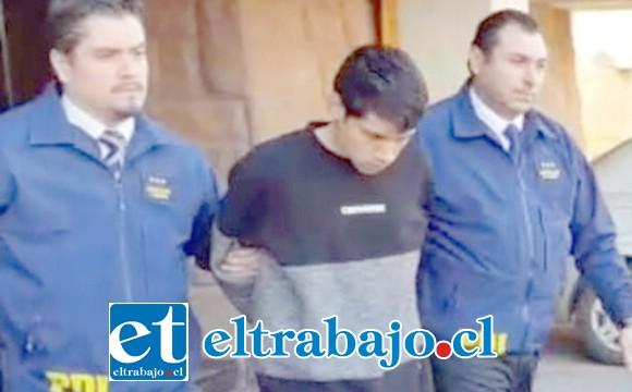 El imputado de 18 años de edad, Walter Campos Villalobos, arriesgaría una pena que podría llegar hasta los 20 años de cárcel por homicidio calificado.