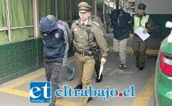 Los imputados fueron detenidos por Carabineros la madrugada de este sábado por el delito de robo con intimidación.