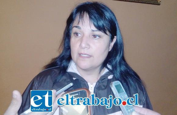 Alejandra Prado, madre de Leonel.