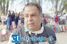 Juan Carlos Herrera Lillo, Comandante de Bomberos de San Felipe.