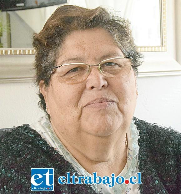 Verónica Gamboa, vecina de La Pirca que sufre de cáncer al endometrio.