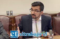 Edgardo González Arancibia, alcalde de Llay Llay..