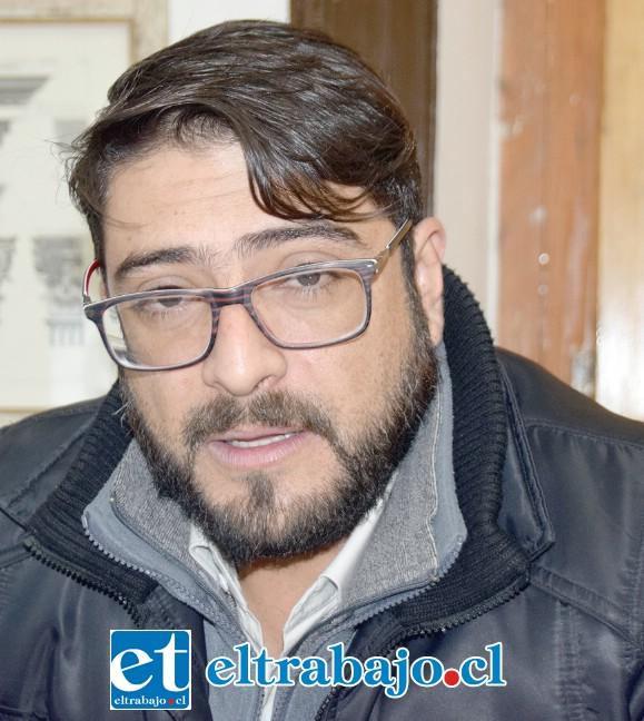 Encargado de la Casa Municipal de Cultura, Ricardo Ruiz Herrera.