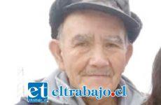 Manuel Gallardo Flores, de 72 años de edad, se encuentra desaparecido desde este domingo luego de abandonar su vivienda ubicada en la población Manso de Velasco en San Felipe.