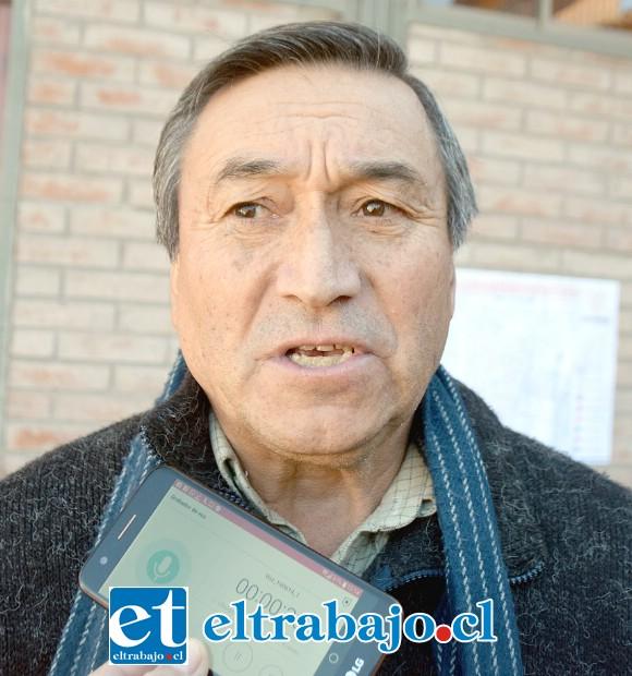 Héctor Camus, secretario de la Agrupación de Discapacidad Volver a los 17, de San Rafael.