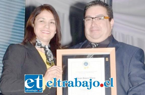 Iván Bravo Mora, de 43  años de edad, había sido reconocido como Andino Destacado por la Municipalidad de Los Andes el año 2018.