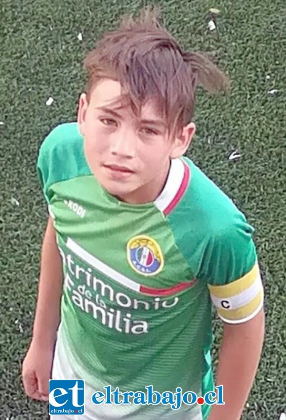 Vicente Quintanilla Pavez, de 12 años de edad, es el segundo de cuatro hermanos.