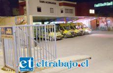 El paciente de 32 años de edad fue trasladado de urgencia hasta el Hospital San Camilo de San Felipe la madrugada de este miércoles.