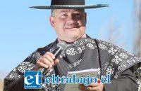 Patricio Chavarría, gestor de la celebración.