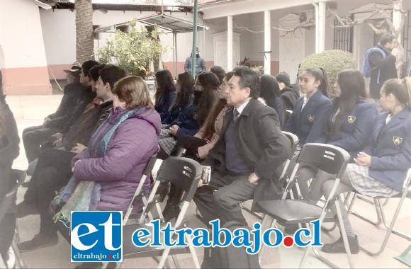 Con un acto cultural realizado en el Cementerio Municipal comenzó la semana de actividades en torno a la figura de Ernesto Montenegro.