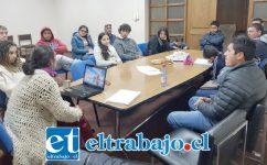 En total fueron los 14 los jóvenes de sectores rurales del Valle de Aconcagua que se reunieron para conformar esta mesa y conocer sus inquietudes y problemas.