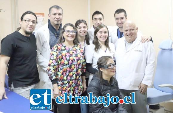El servicio de Otorrinolaringología del Hospital San Camilo vino a sumar a su equipo humano un nuevo dispositivo capaz de realizar exámenes más rápidos y certeros para los casos de vértigo.