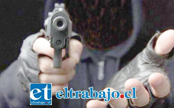 Los delincuentes cometieron el robo a mano armada dentro de un almacén y Caja Vecina ubicada en el sector de Tierras Blancas de San Felipe. (Foto Referencial).