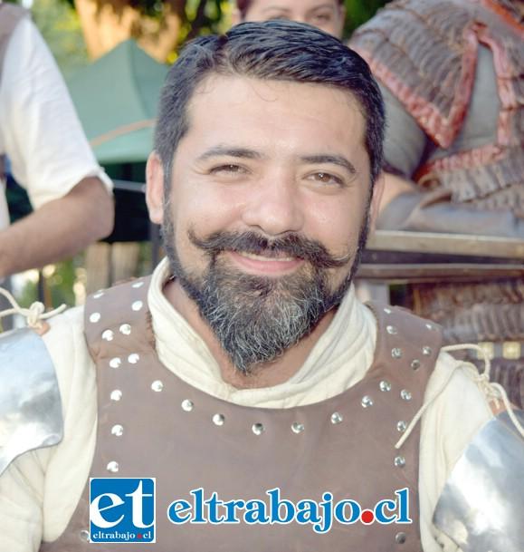 Jorge Gaete, del equipo organizador de la Seha.