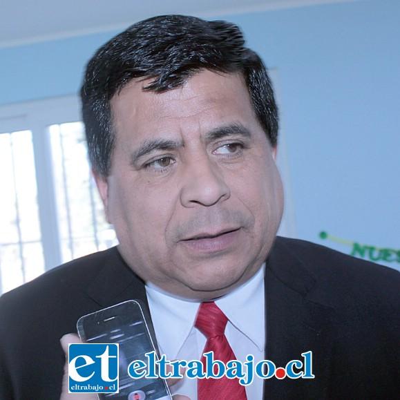 Claudio Zurita Ibarra, alcalde de Santa María.