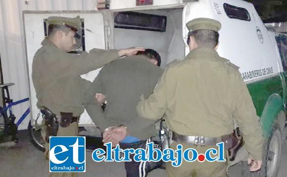 El conductor de la motocicleta fue detenido por Carabineros de la Subcomisaría de Llay Llay el 3 de junio del 2018. (Foto Referencial).