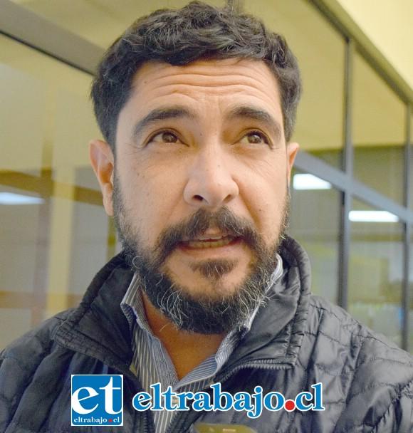 Asesor urbanista Rodrigo Salinas, funcionario municipal.