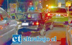 El accidente ocurrió la tarde noche de este lunes en Avenida Yungay de San Felipe.