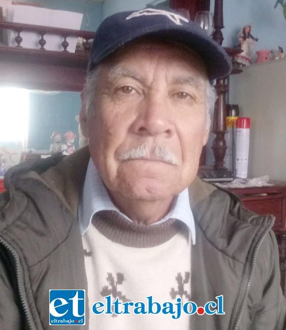 Luis Reinoso, padrastro de Carlos Calderón.