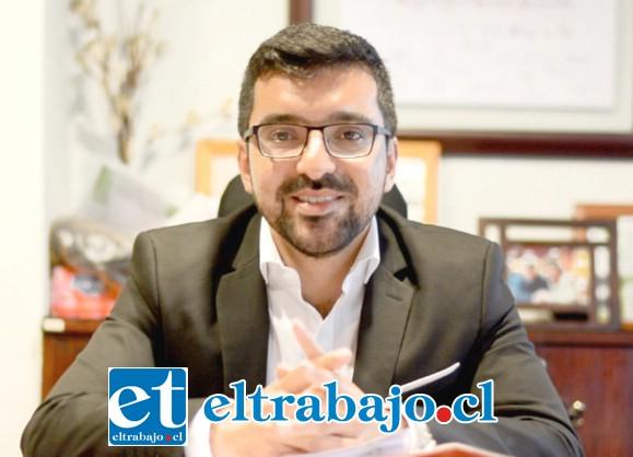 Edgardo González, alcalde de Llay Llay.