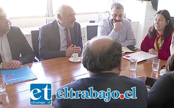 Este tema se resolvió en una reunión que lideró el alcalde Patricio Freire y cuyo objetivo es mejorar el actual recinto deportivo.