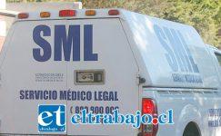 El cuerpo del fallecido fue remitido al Servicio Médico Legal de San Felipe para la práctica de la autopsia de rigor para la investigación del caso. (Foto Referencial).