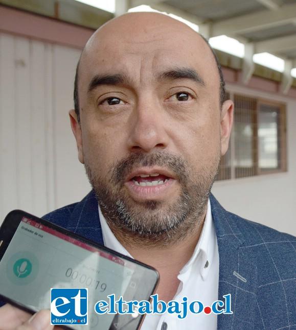 Mauricio Vergara, profesor de cocina.