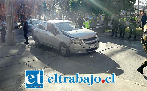 Ambos conductores protagonistas de esta colisión resultaron con lesiones de carácter leve.