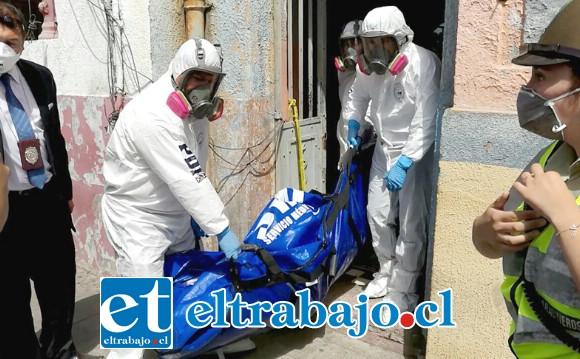 El cuerpo de Susana Sanhueza  fue hallado en avanzado estado de descomposición en el archivero municipal de San Felipe en marzo de 2017.