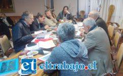 El director de Tránsito, Guillermo Orellana, explicó al Concejo sobre la situación financiera de la empresa.