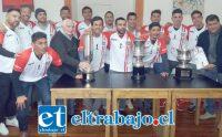 A la cita llegó parte del grupo de jugadores que el 2009 ganó todo en la B y la Copa Chile.