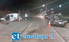 El accidente ocurrió alrededor de las 05:10 horas de este sábado 24 de agosto en la ruta Troncal en Panquehue.