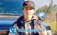 El conductor de 19 años de edad fue identificado como Claudio Díaz Aguilera, quien falleció al mediodía de ayer jueves.