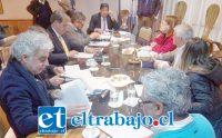 Los concejales abordaron en la reunión de ayer martes el tema de las ciclo vías.