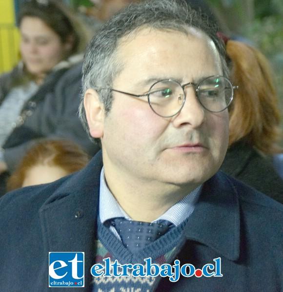 Guillermo Quijanes Villarreal, organizador del torneo.