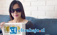 Fernanda Ordóñez, sufre un cáncer de ojo inoperable, pero también ella es indoblegable.
